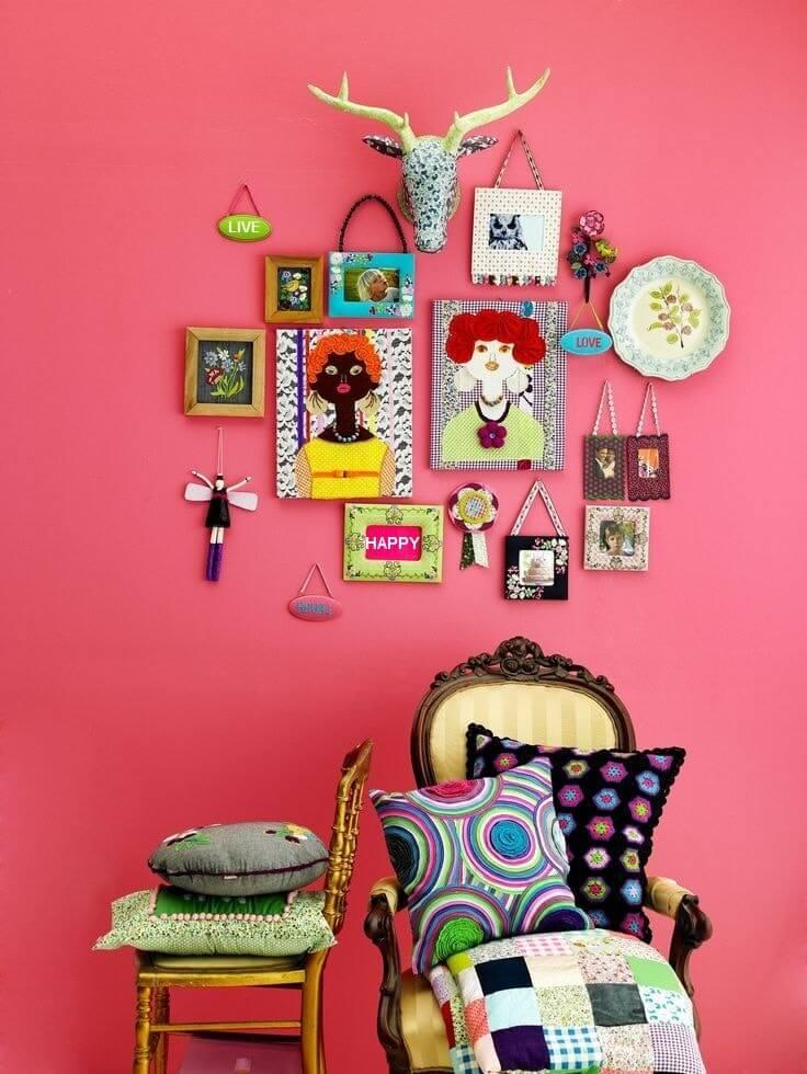 Belle décoration murale pop art