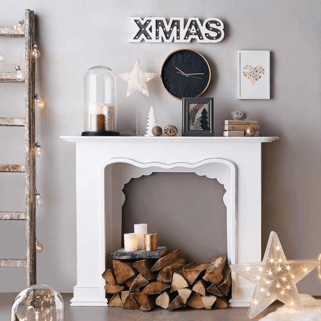 Composition de Noël bricolage