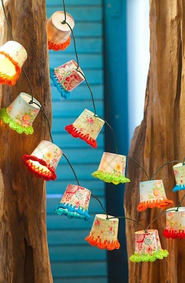 Удивительные по красоте фонарики сделанные своими руками из обычной бумаги