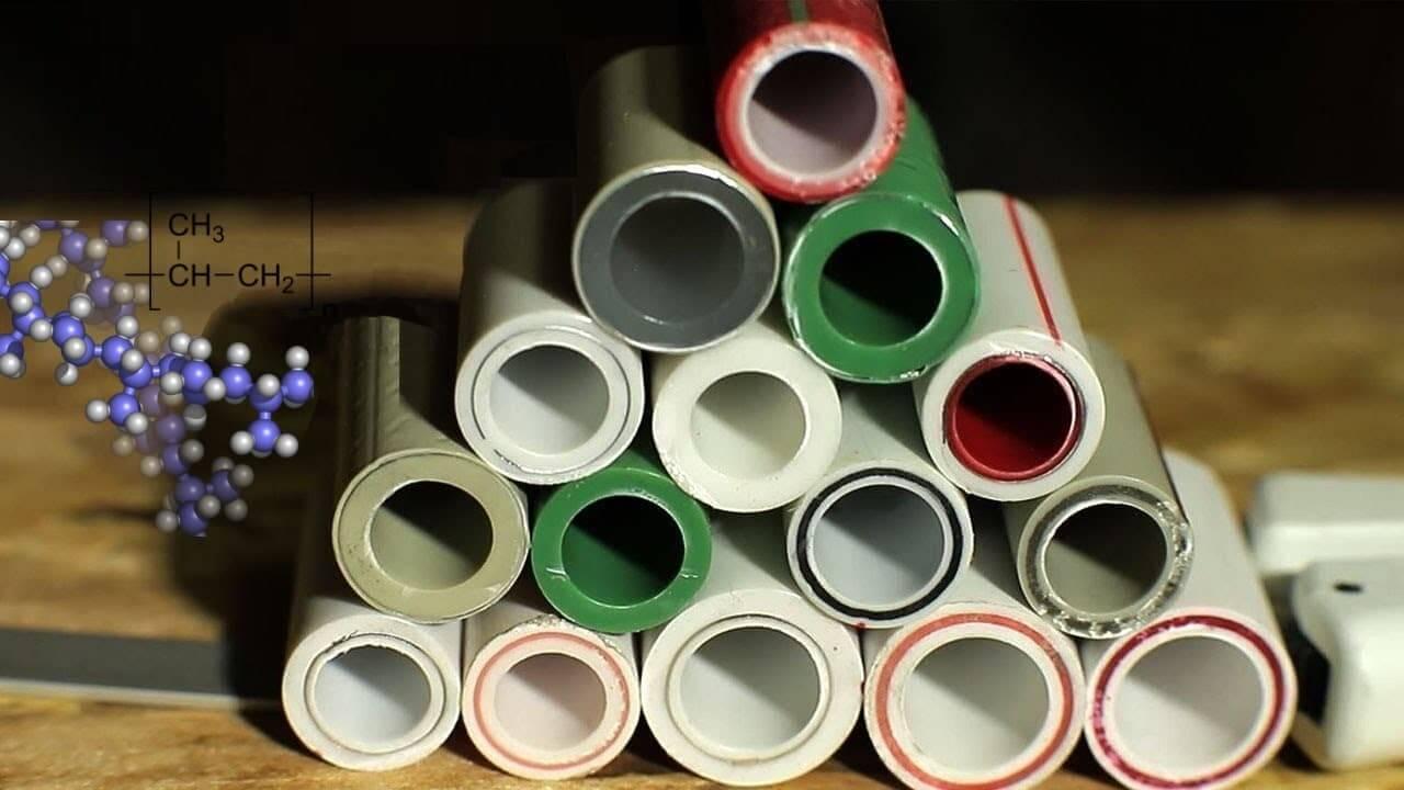 En fonction de leur coefficient de dilatation linéaire, les tuyaux en polypropylène peuvent avoir différents degrés de renforcement