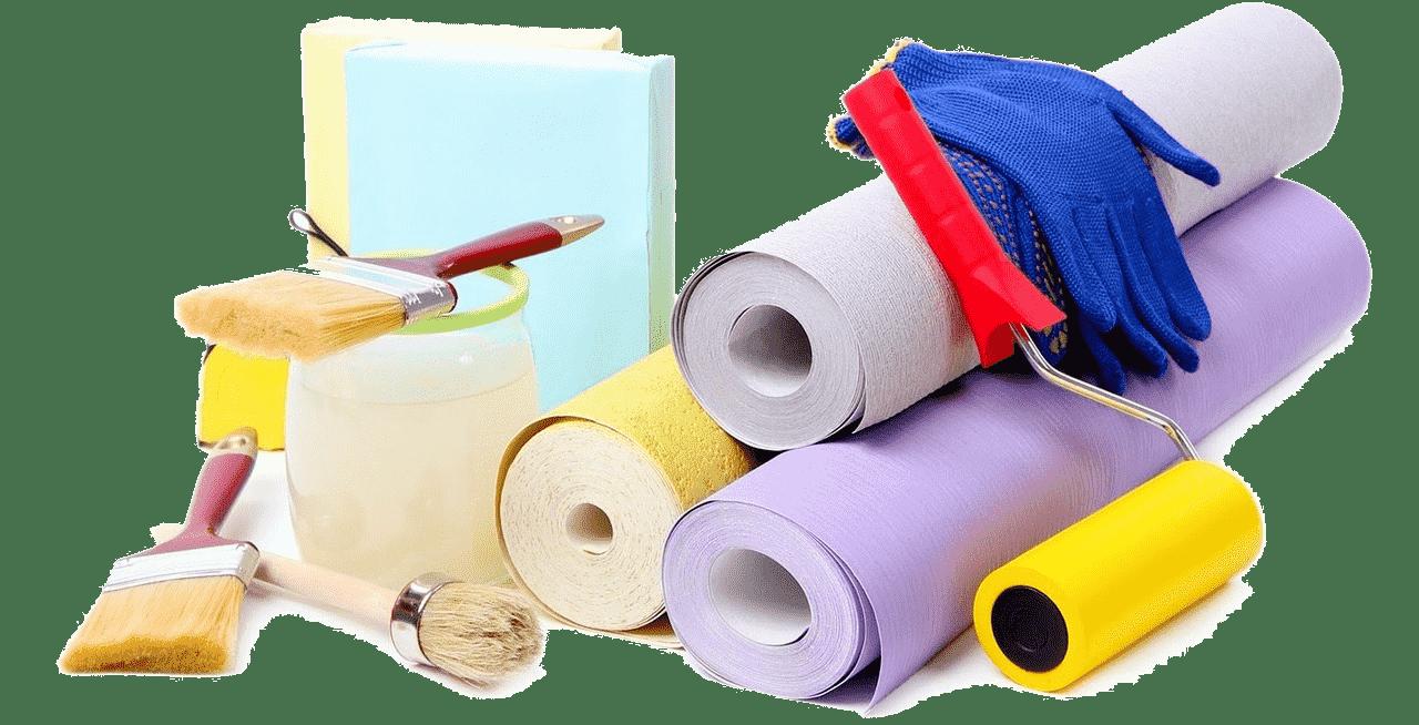 Outils minimums pour les travaux de pose de papier peint