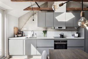 Photo de cuisines grises