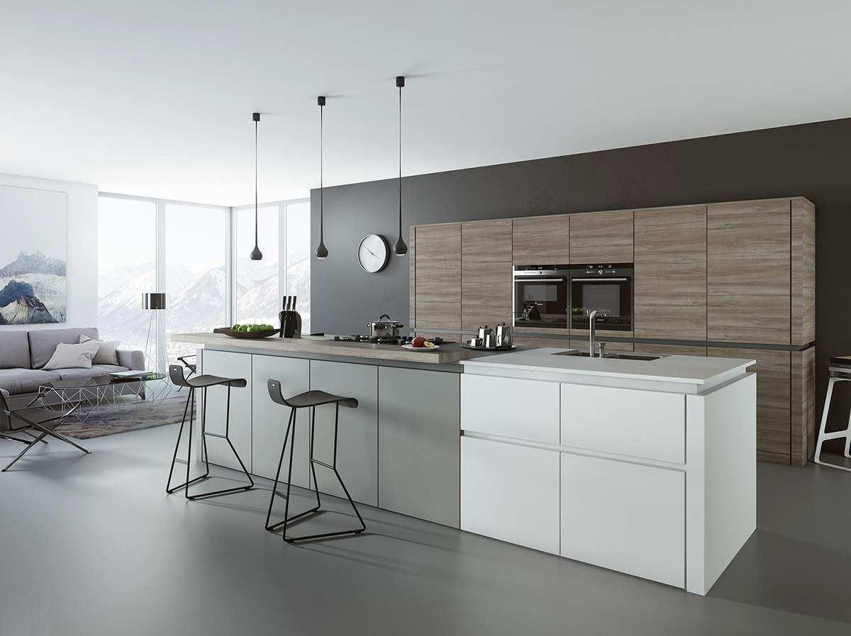Les meubles de la cuisine doivent s'intégrer parfaitement à l'intérieur de la pièce, tout en étant aussi pratiques et confortables que possible.