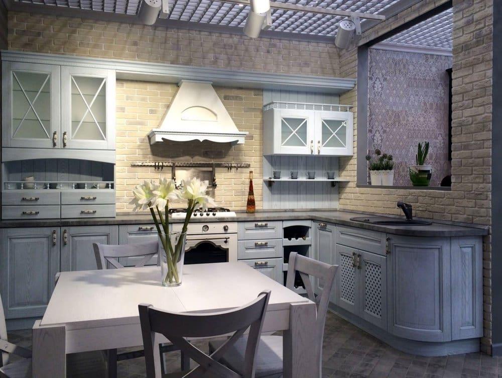 Pour la cuisine de style provençal, l'élément naturel est aussi important que l'élément fonctionnel.