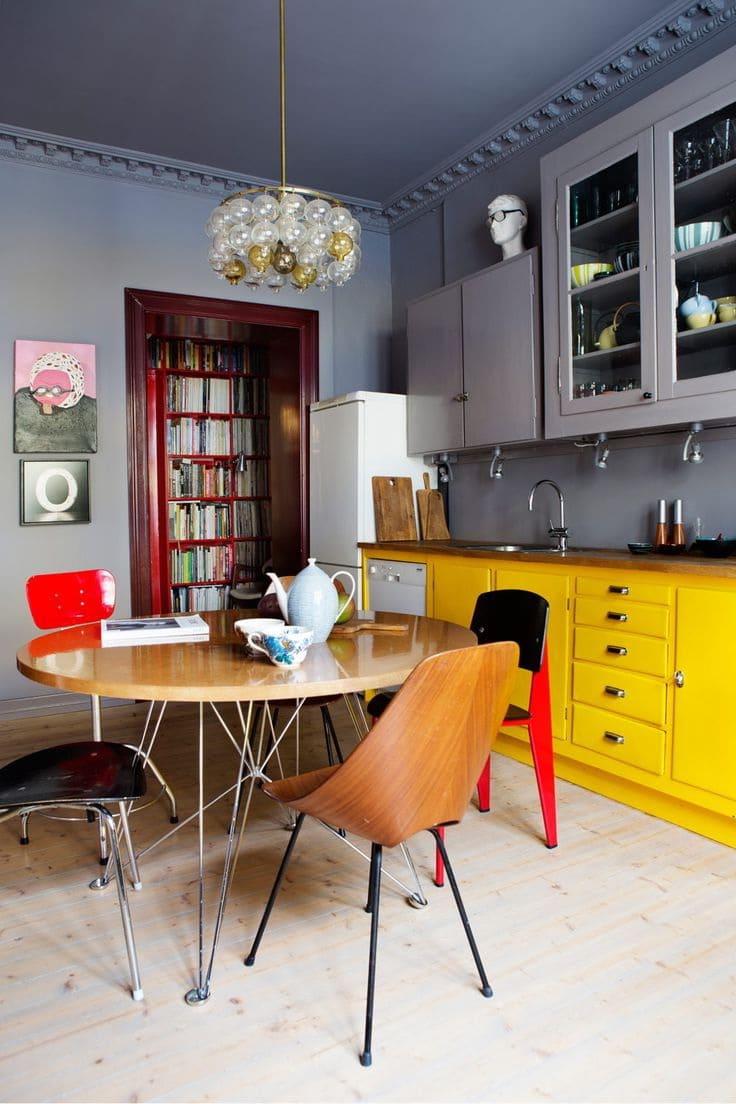La principale caractéristique du style éclectique est la combinaison de plusieurs styles en un seul et même design harmonieusement équilibré et magnifique.