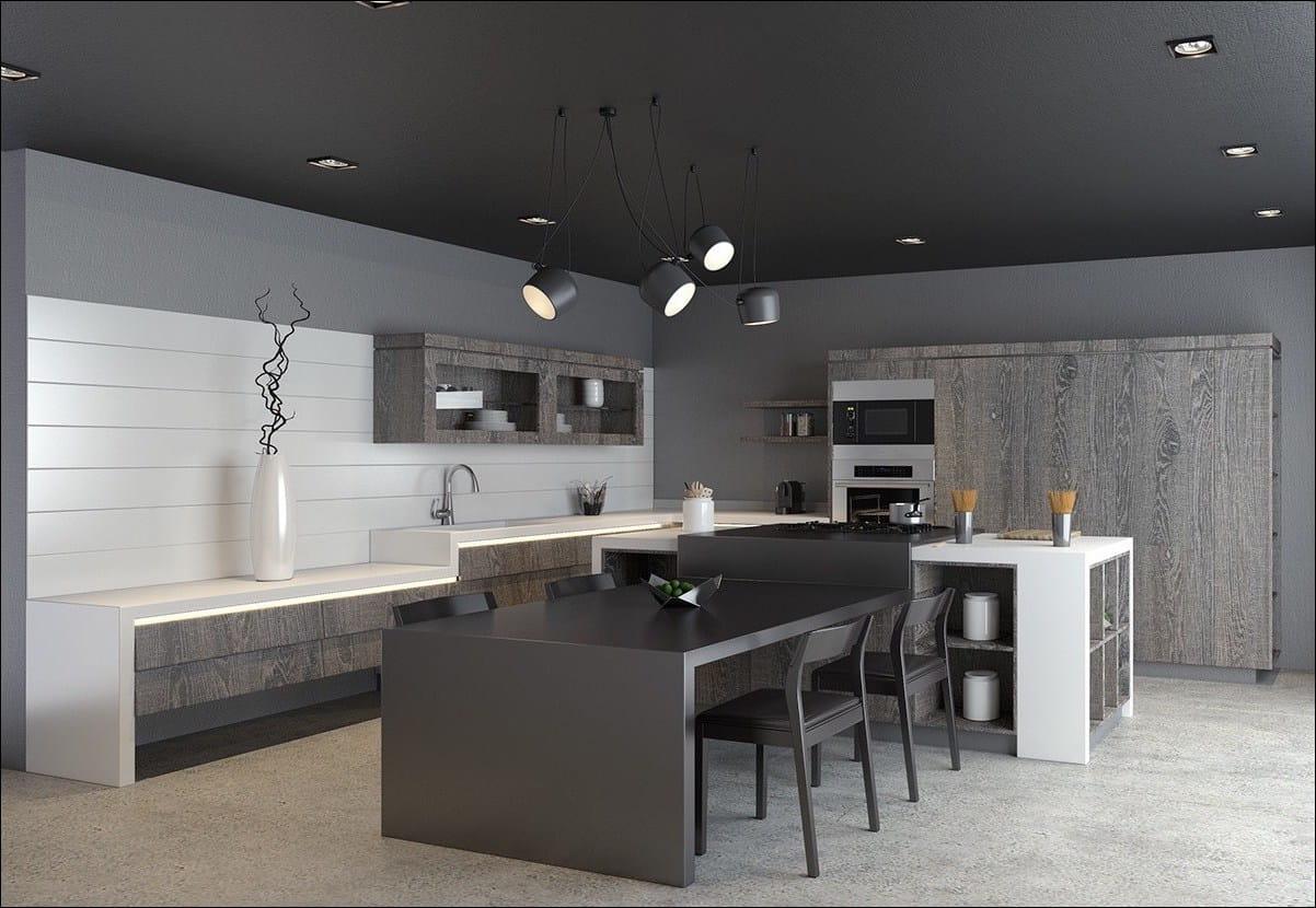 Divers éléments de décor et petits accessoires permettent de dynamiser l'espace, tout en créant une atmosphère particulière.