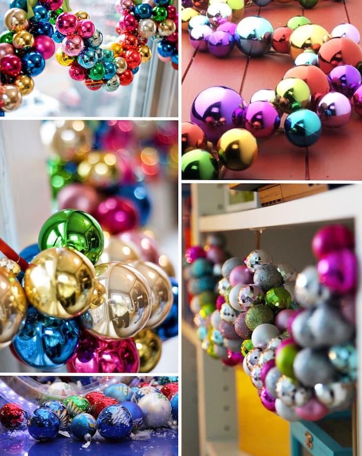 Интересные способы декора стен и окон с помощью разноцветных шаров