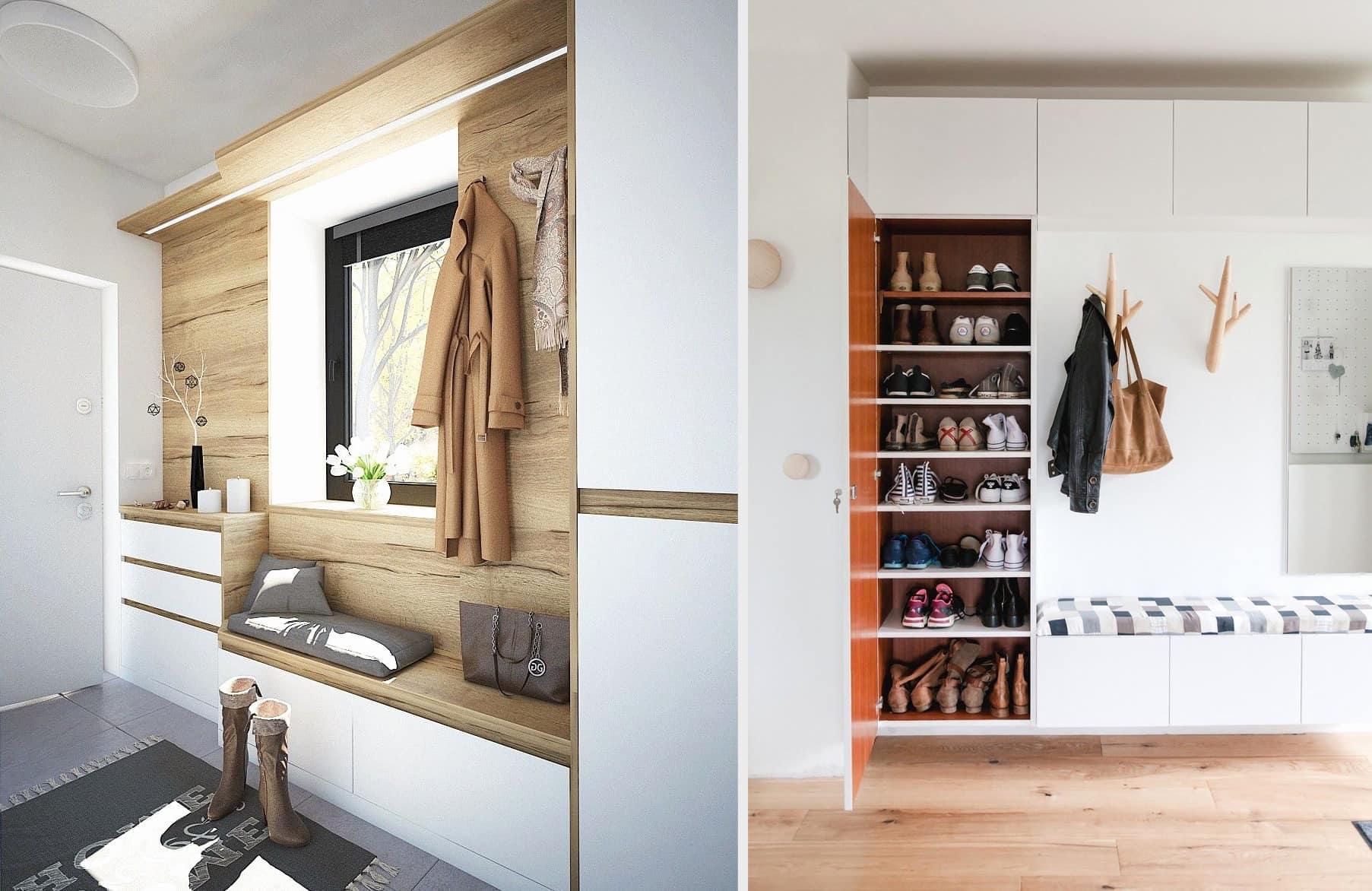 Les idées d'aménagement de couloirs en 2021 frappent par leur originalité et leur praticité.