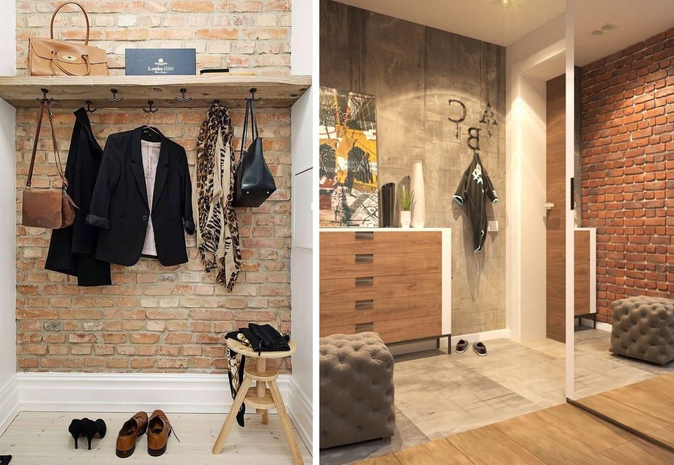Couloir de style loft 2021