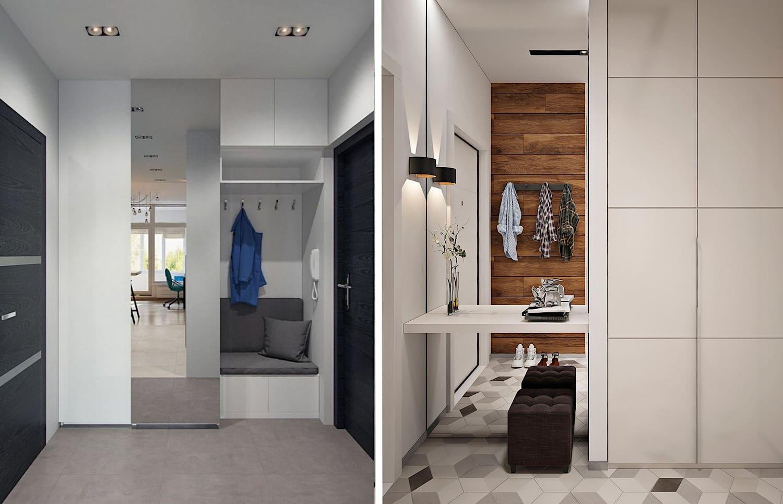 Miroir - un attribut indispensable de l'intérieur du couloir moderne 2021