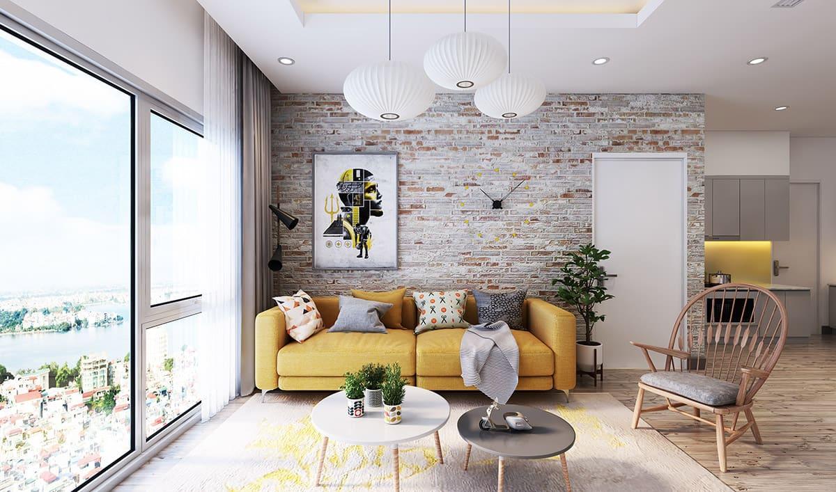 Des spots montés au plafond et de grandes ouvertures de fenêtres assurent un éclairage uniforme et volumétrique