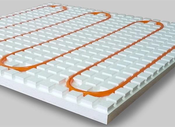 Tapis en polystyrène