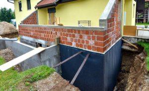 Isolation des fondations des sous-sols