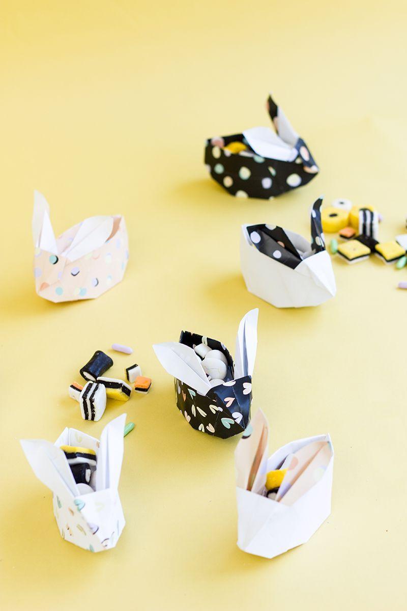 Поделки в стиле оригами для хранения мелких предметов