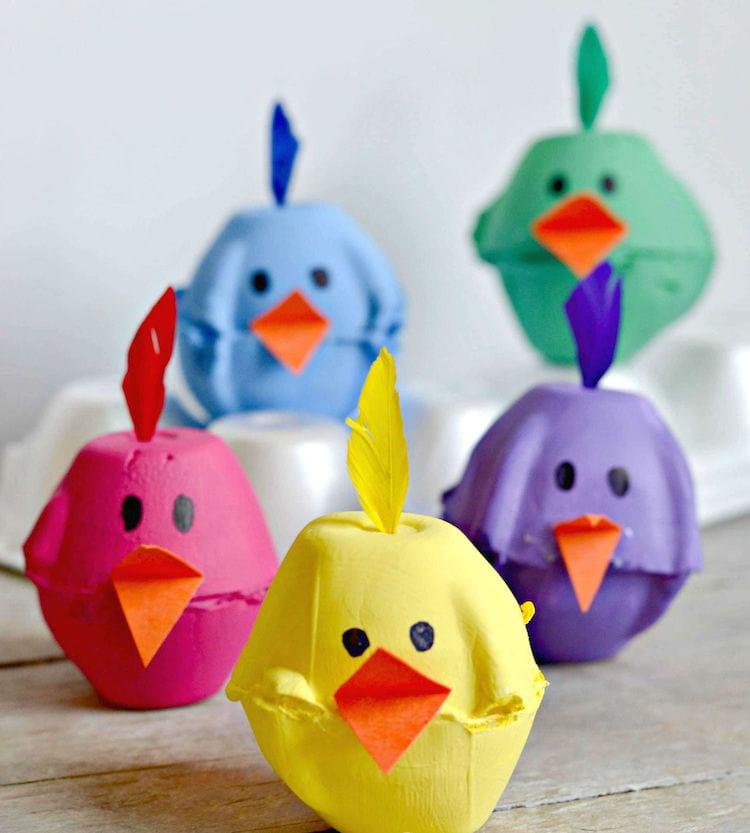 Вторая жизнь бумажного лотка для яиц