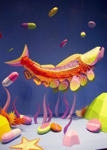 Модульное оригами – рыба