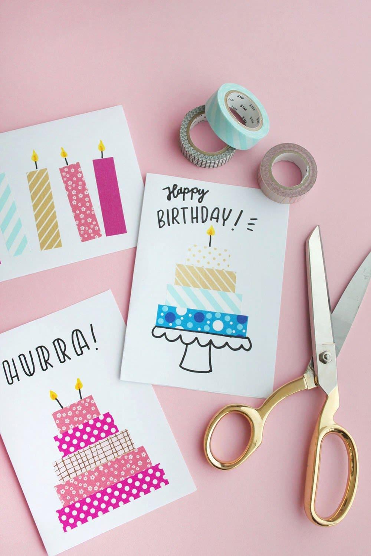 Бумажные открытки очень просты в изготовлении