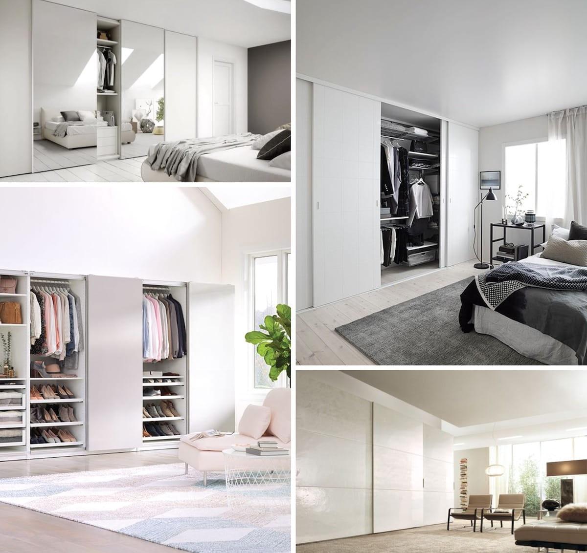 Модное и актуальное оформление фасадов шкафов 2021