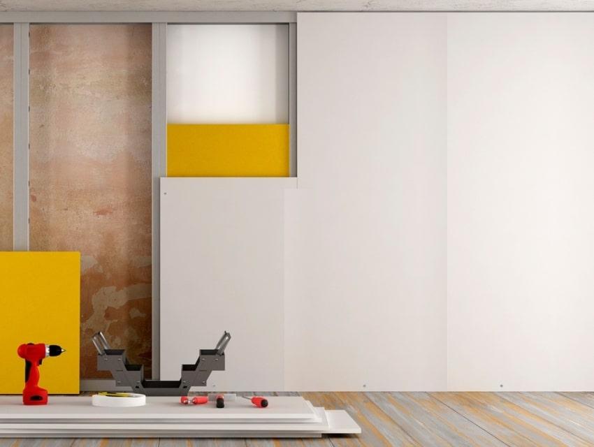 Les plaques de plâtre de construction sont un excellent matériau utilisé dans les rénovations de toute complexité.