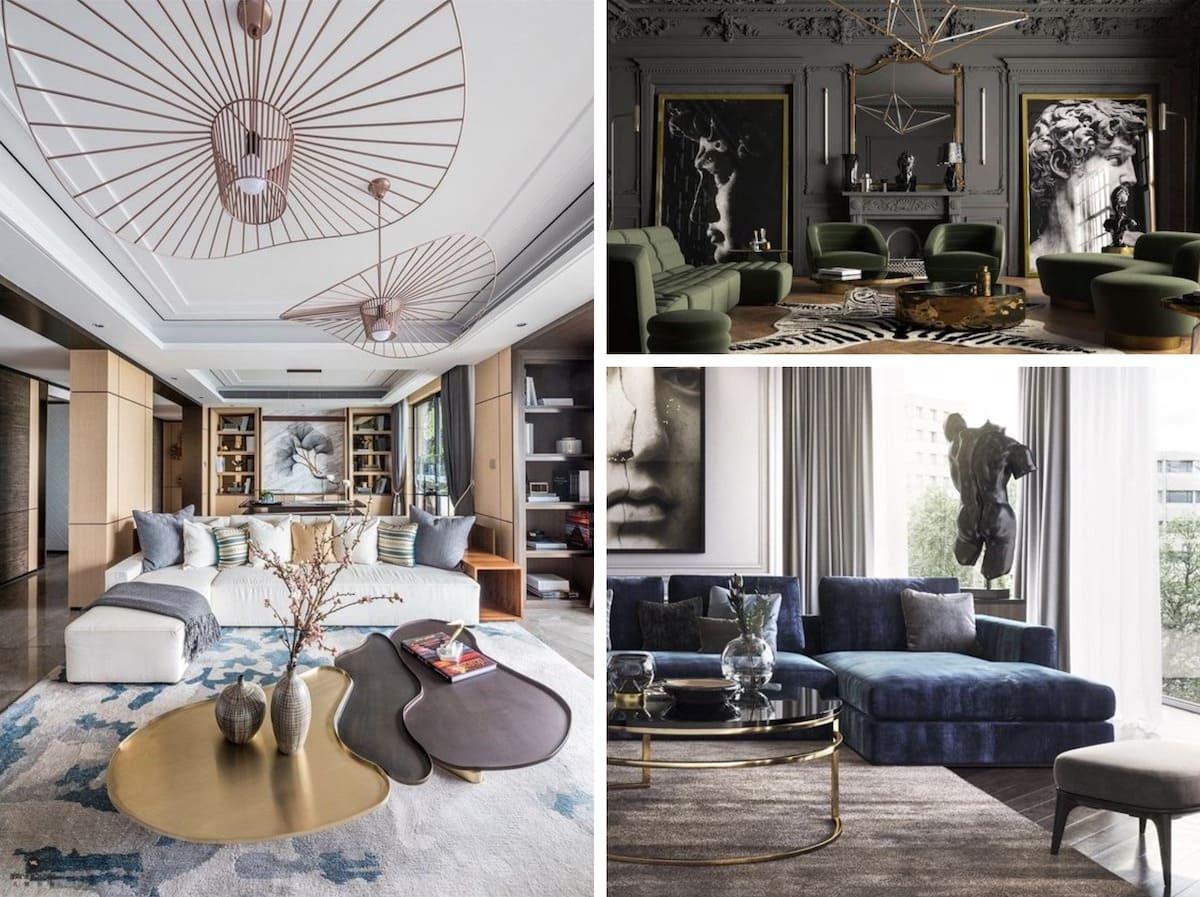 Le luxe modéré permet au style art déco d'être beau et moderne.