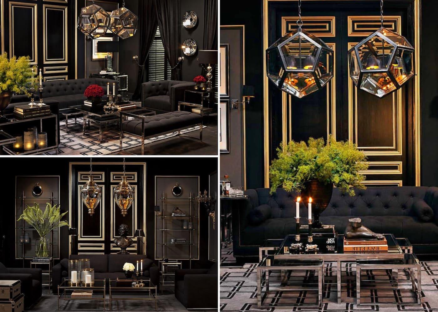 L'utilisation exclusive de matériaux naturels dans les finitions fait du style art déco une destination de choix.
