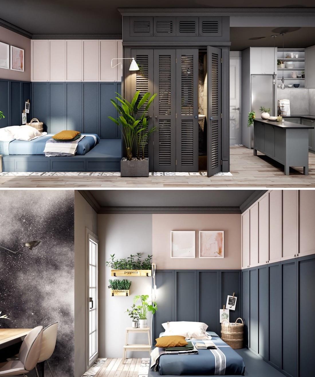 conception d'un petit appartement photo 14