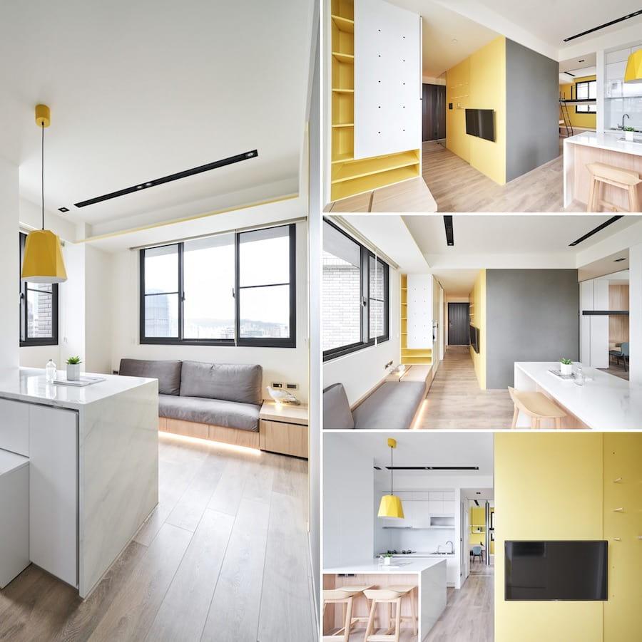 conception d'un petit appartement photo 2