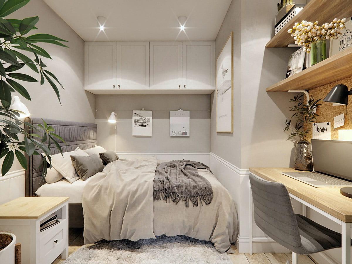 conception d'un petit appartement photo 21