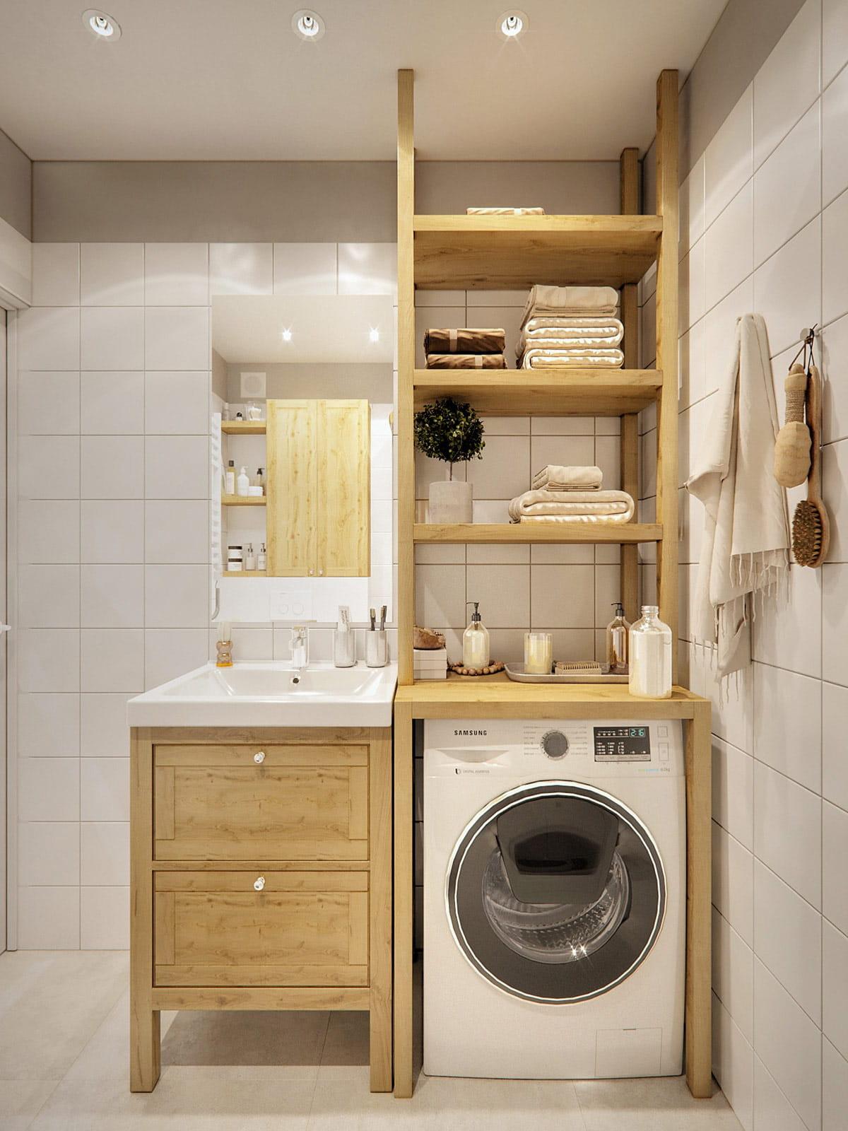 conception d'un petit appartement photo 23