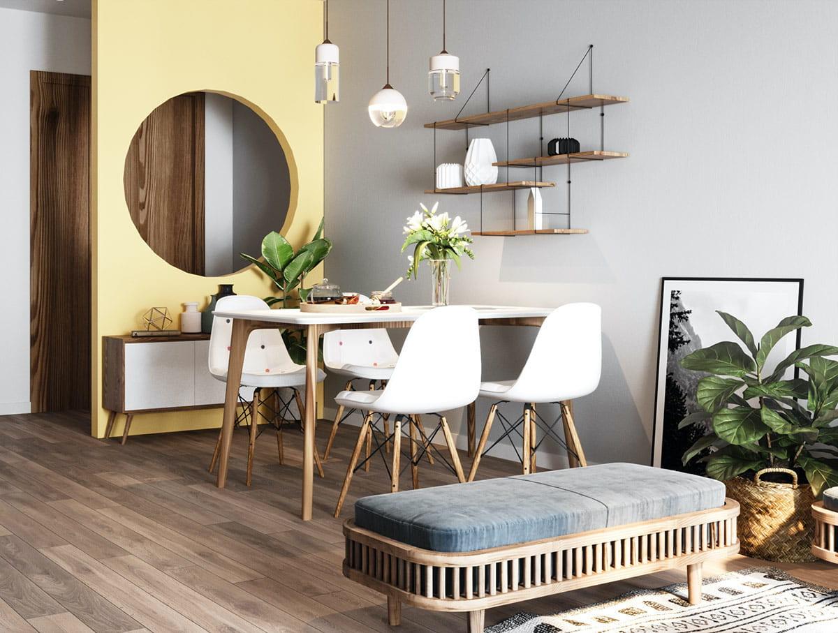 conception d'un petit appartement photo 25