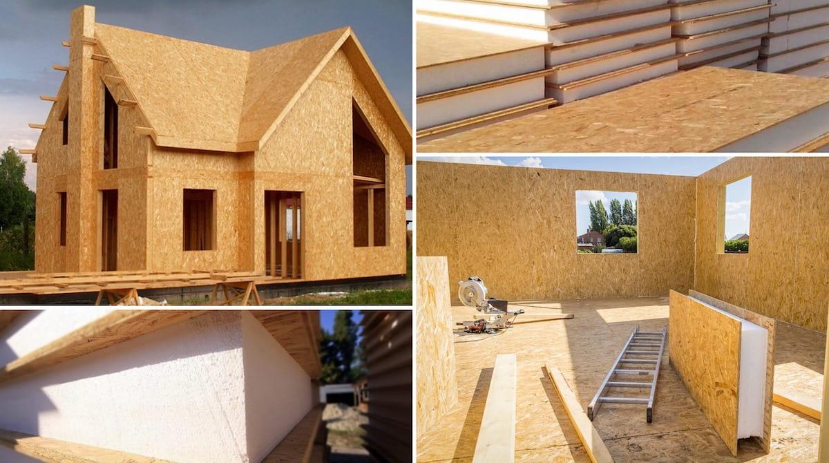 Une maison en panneaux CIP se construit assez rapidement et facilement.