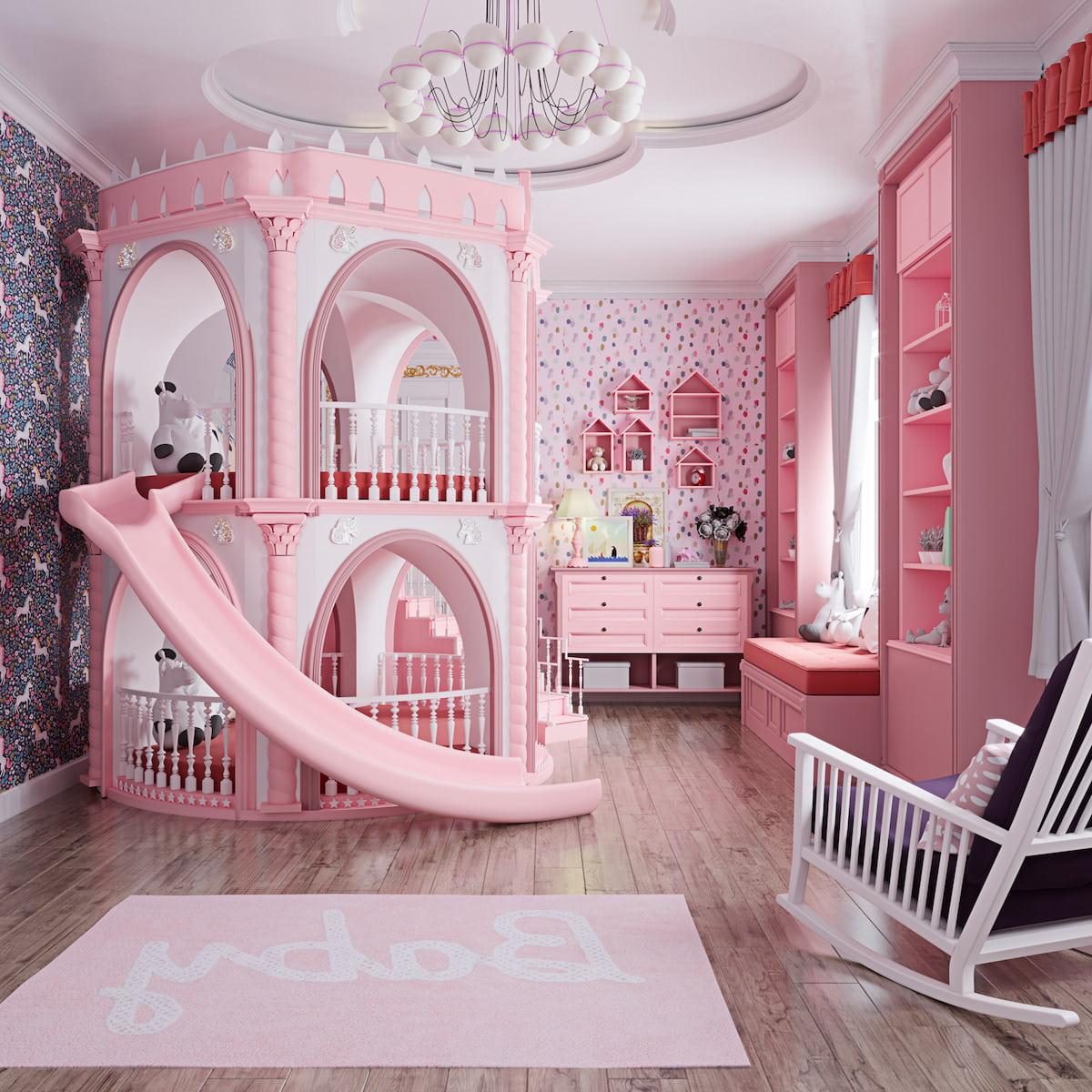 chambre de bébé fille photo 1