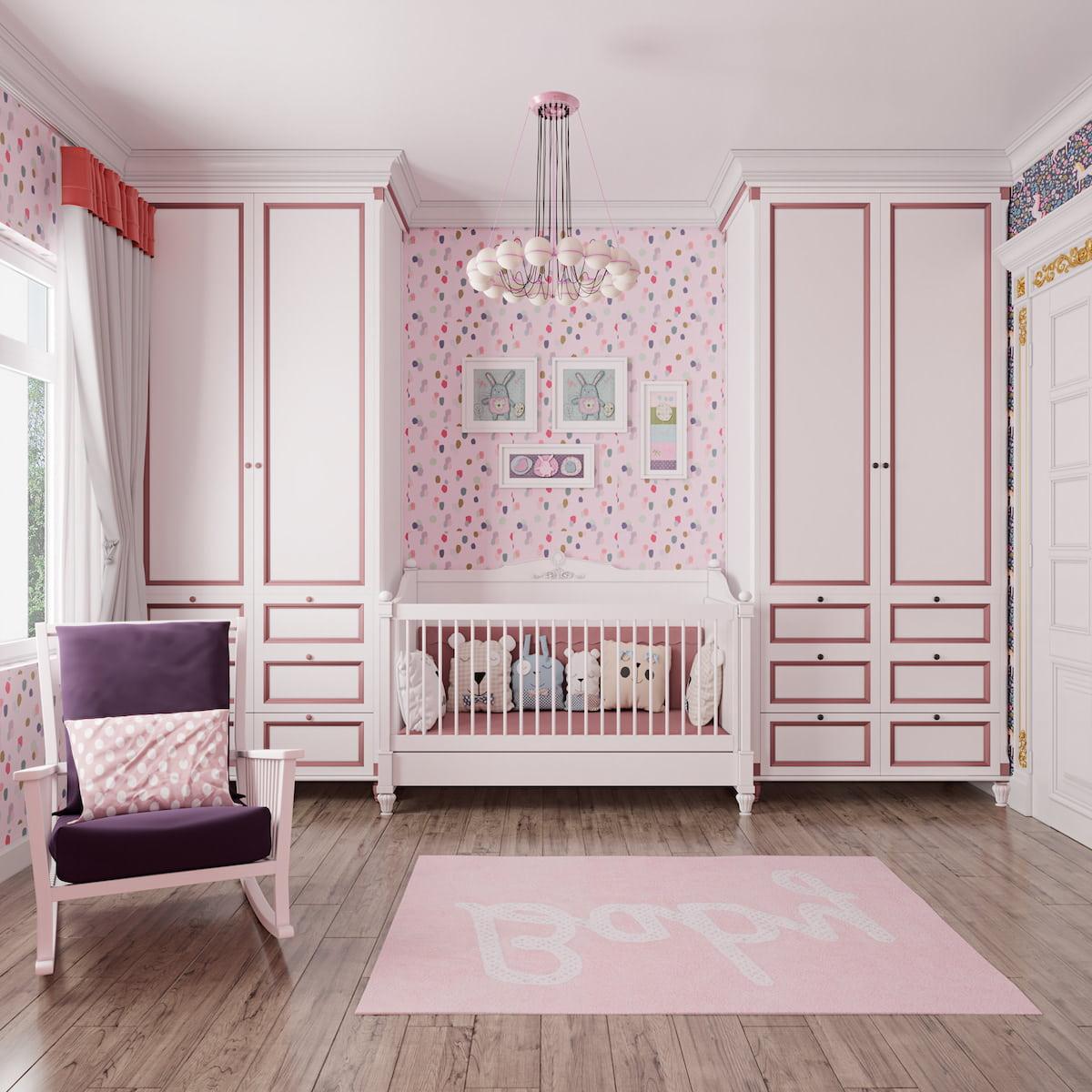 chambre de bébé fille photo 3