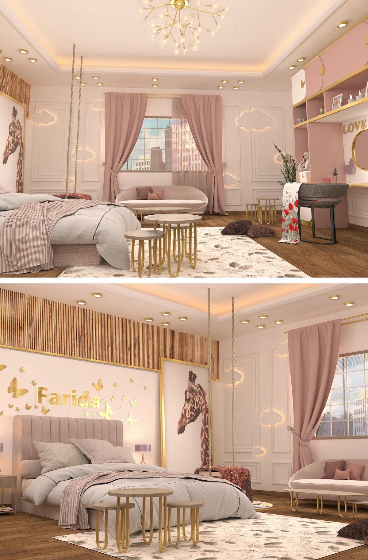 chambre de bébé fille photo 7