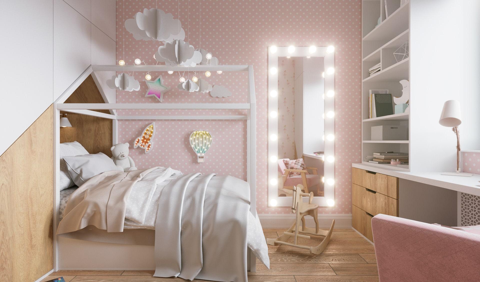 chambre de bébé fille photo 15
