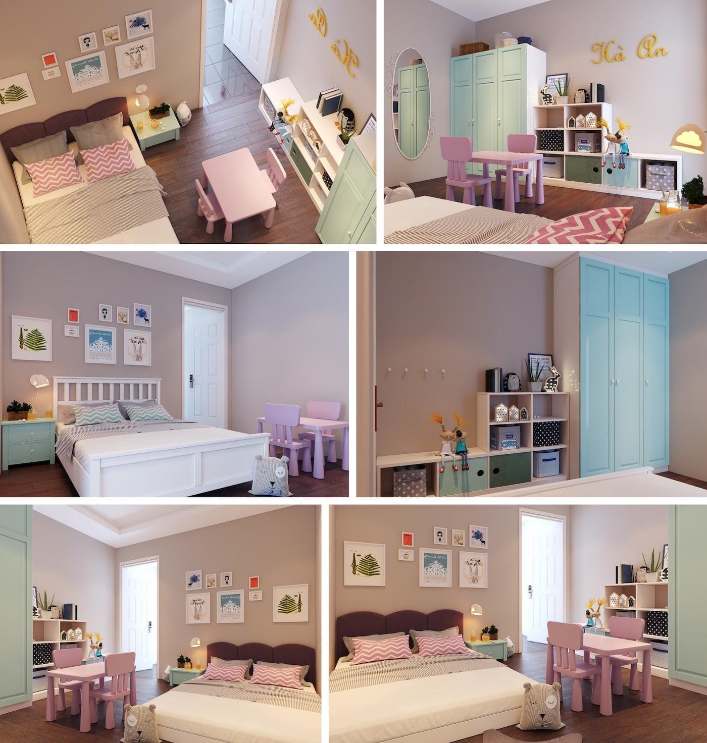 chambre de bébé fille photo 31