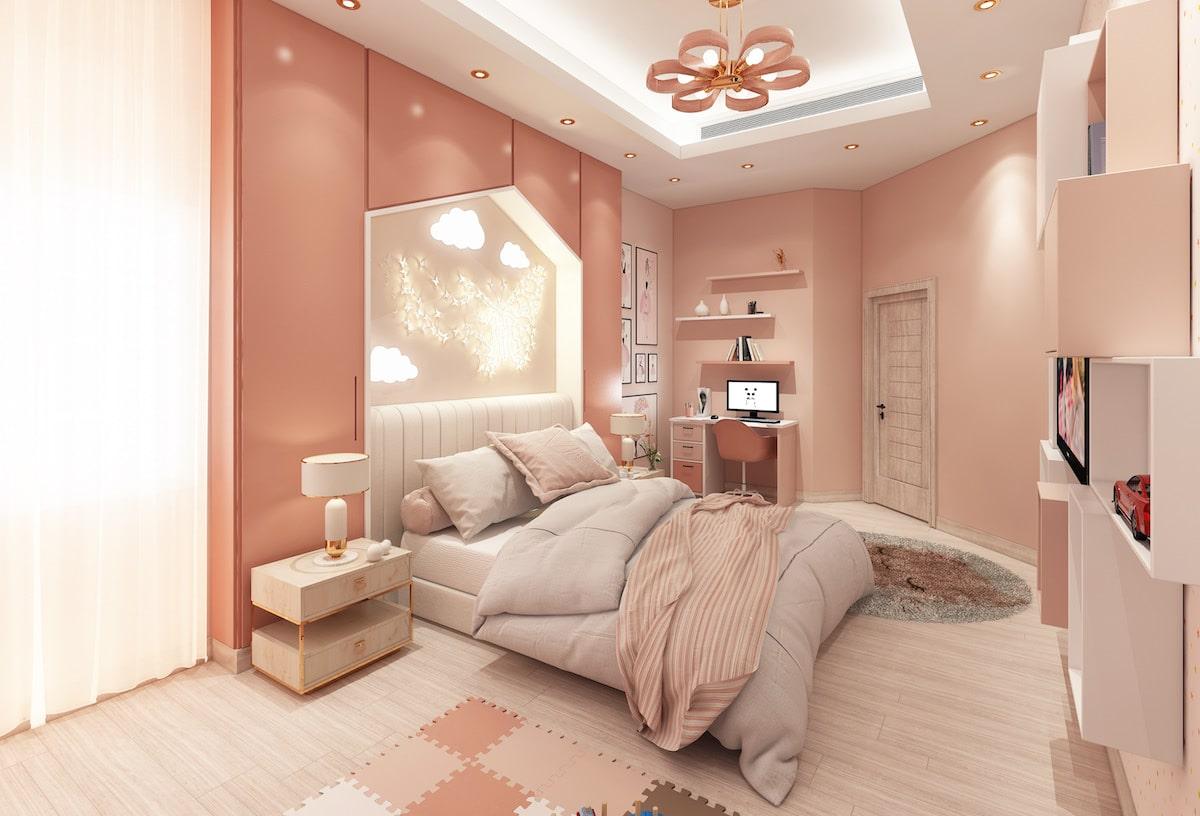 chambre de bébé fille photo 33