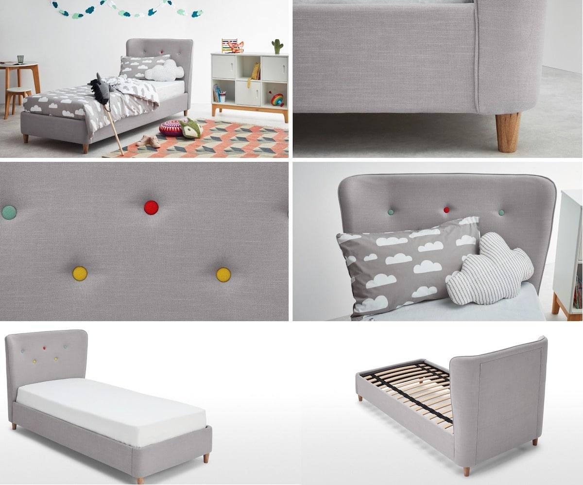 lit pour chambre de bébé d'une fille photo 1