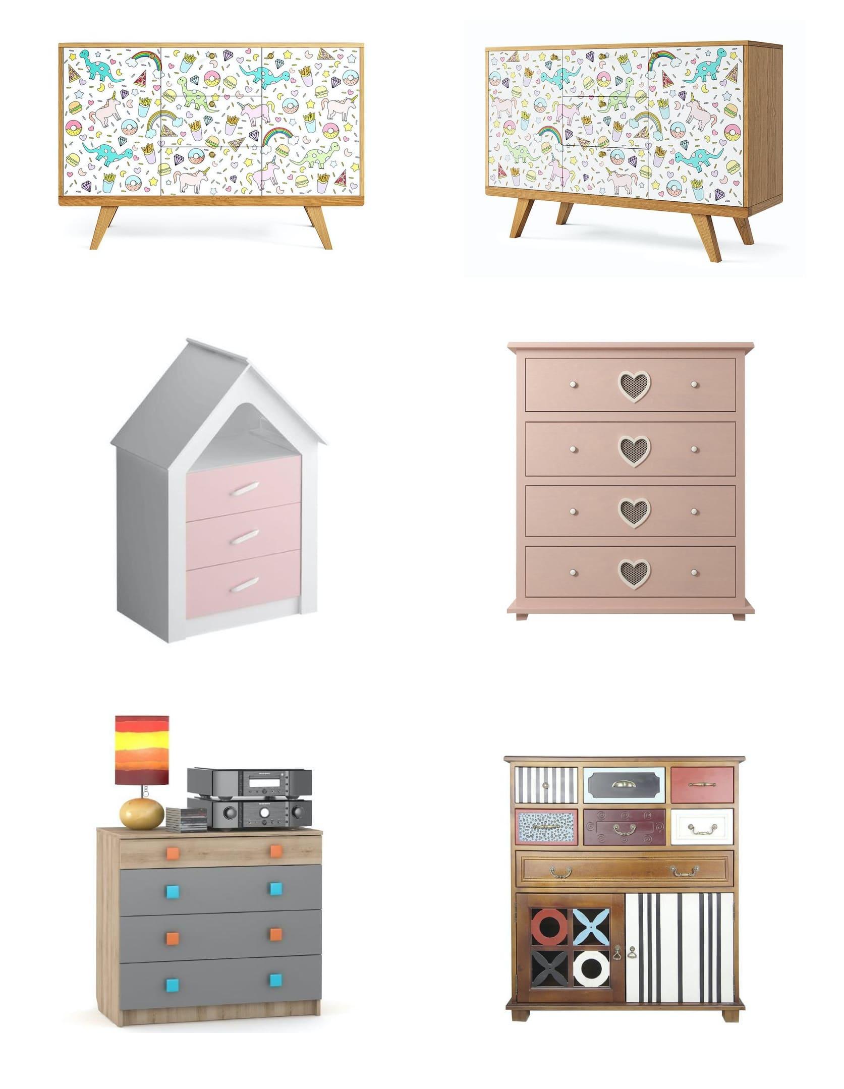 Meubles pour la chambre d'enfant d'une fille photo 1