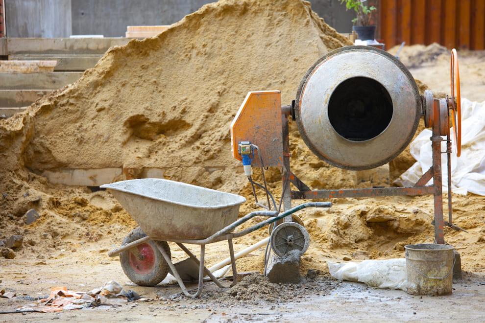 Прочность бетонной смеси напрямую зависит от качества песка