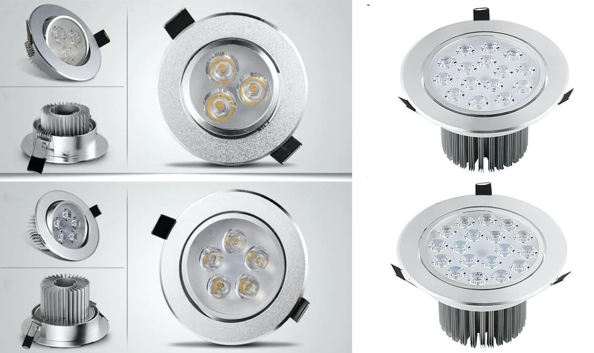 Il est préférable d'organiser l'éclairage de la maison avec plusieurs types de lampes et de luminaires LED