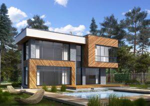 проект дома в стиле хай тек фото 18