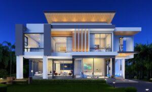 проект дома в стиле хай тек фото 7