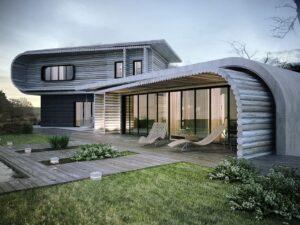 проект дома в стиле хай тек фото 10