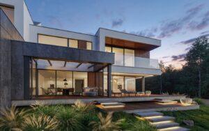 проект дома в стиле хай тек фото 11