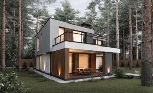 проект дома в стиле хай тек фото 14