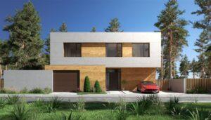 проект дома в стиле хай тек фото 15