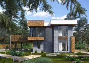 проект дома в стиле хай тек фото 19