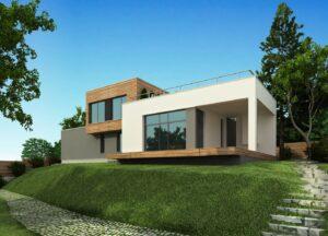 проект дома в стиле хай тек фото 2