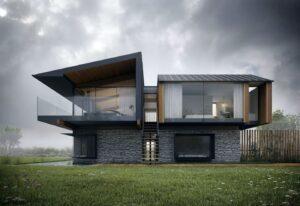 проект дома в стиле хай тек фото 3